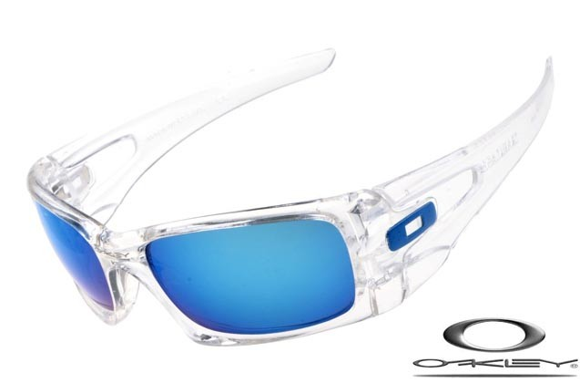 6bceab1d53 Oakley crankcase sunglasses matte clear   ice iridium polarized ...
