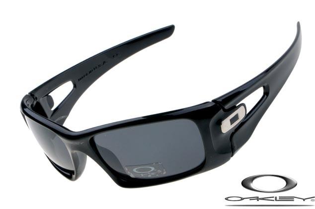 87a435612d ... spain oakley crankcase sunglasses polished black grey iridium cf20d  07e06