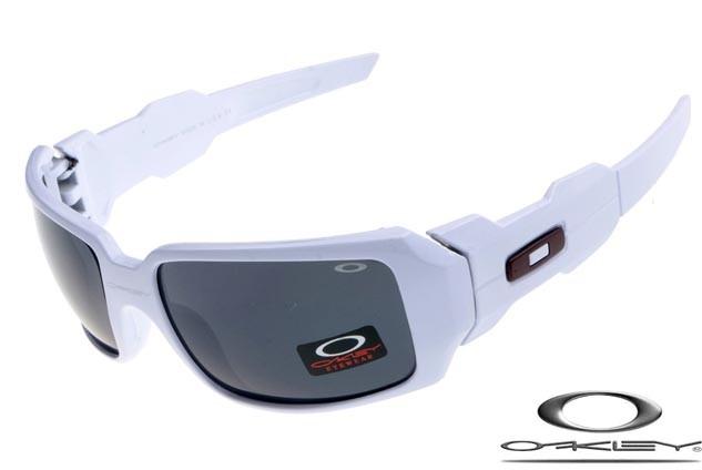 11ca3ffec4 Oakley oil drum sunglasses matte white   black iridium - fake ...