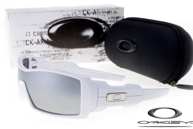 2c914b39ab Oakley oil drum sunglasses white   black iridium - fake oakleys store