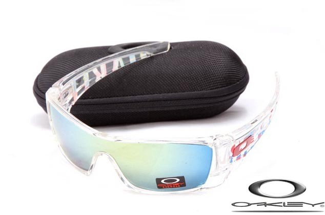 59ecf904f1 oakley batwolf sunglasses clear   ice iridium - fake oakleys store