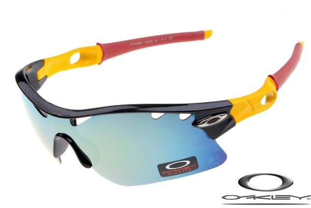 8a5328ce0a oakley radar path photochromic sunglasses polished black   yellow   ice  iridium