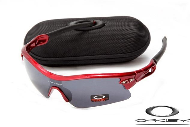 990b199d66 oakley radar path sunglasses red metallic   black iridium - fake ...