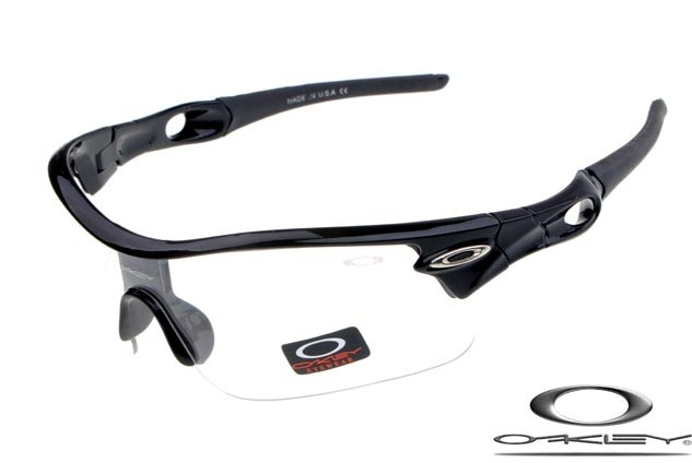 8374bd441d oakley radar pitch sunglasses polished black   clear iridium - fake ...